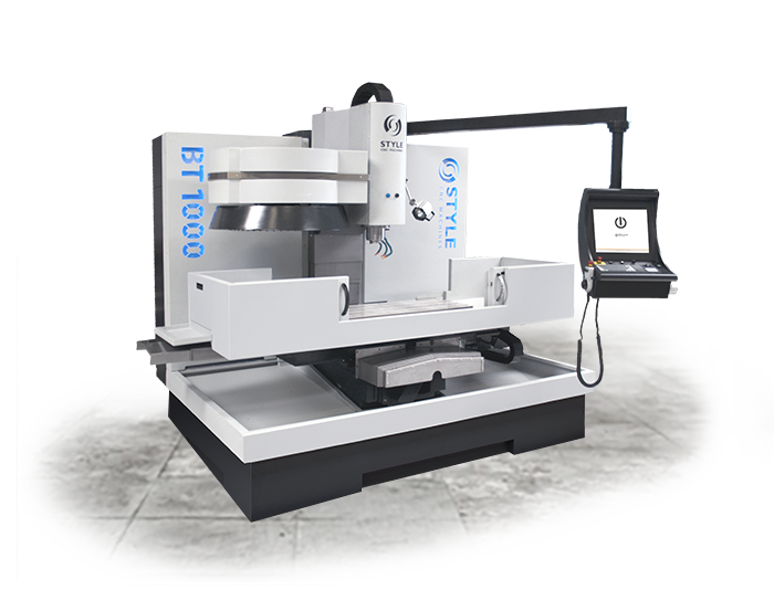 menu STYLE BT 1000 milling-machine/