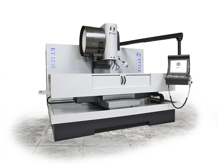 menu STYLE BT 1500 milling-machine/